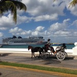 Our ship in Cozumel