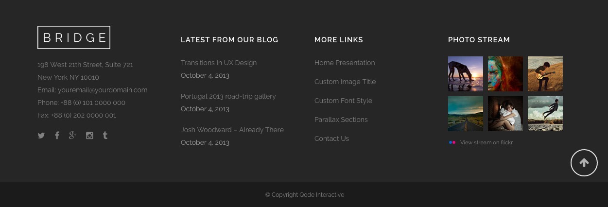 The Lost Art of Footer Design - Some Inspiration To Make Great ...