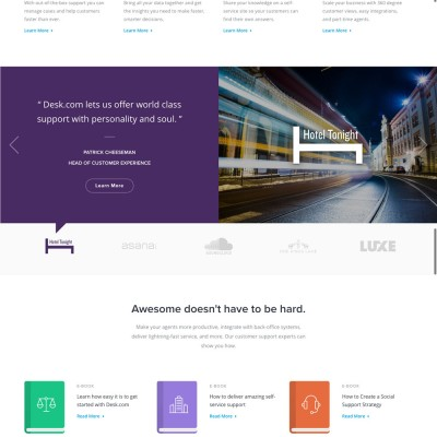 Desk Website Design