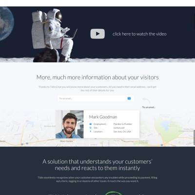 TidioChat Website Design