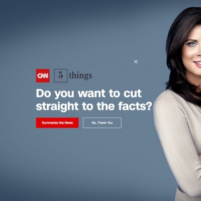 CNN Popup Design