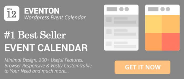 EventON The WordPress Event Calendar Plugin
