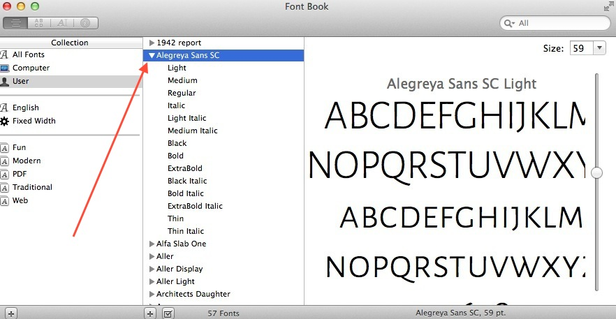 Adding new google fonts to adobe photoshop cc web designers academy google font has been installed ccuart Images
