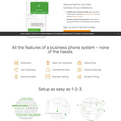 Grasshopper Website Design