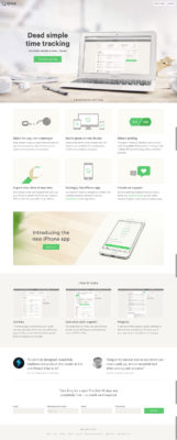 Ding Website Design