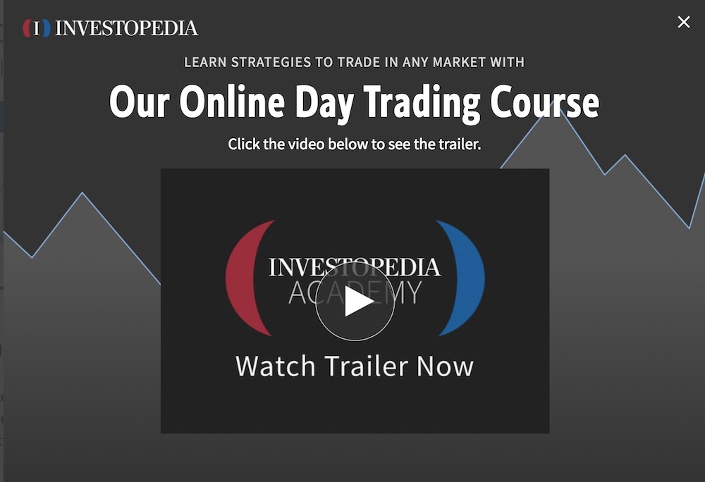 Investopedia Website Design
