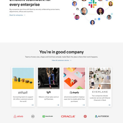 Slack (2019) Website Design